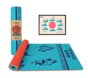 Kids Yoga Mat - Children Preschoolers